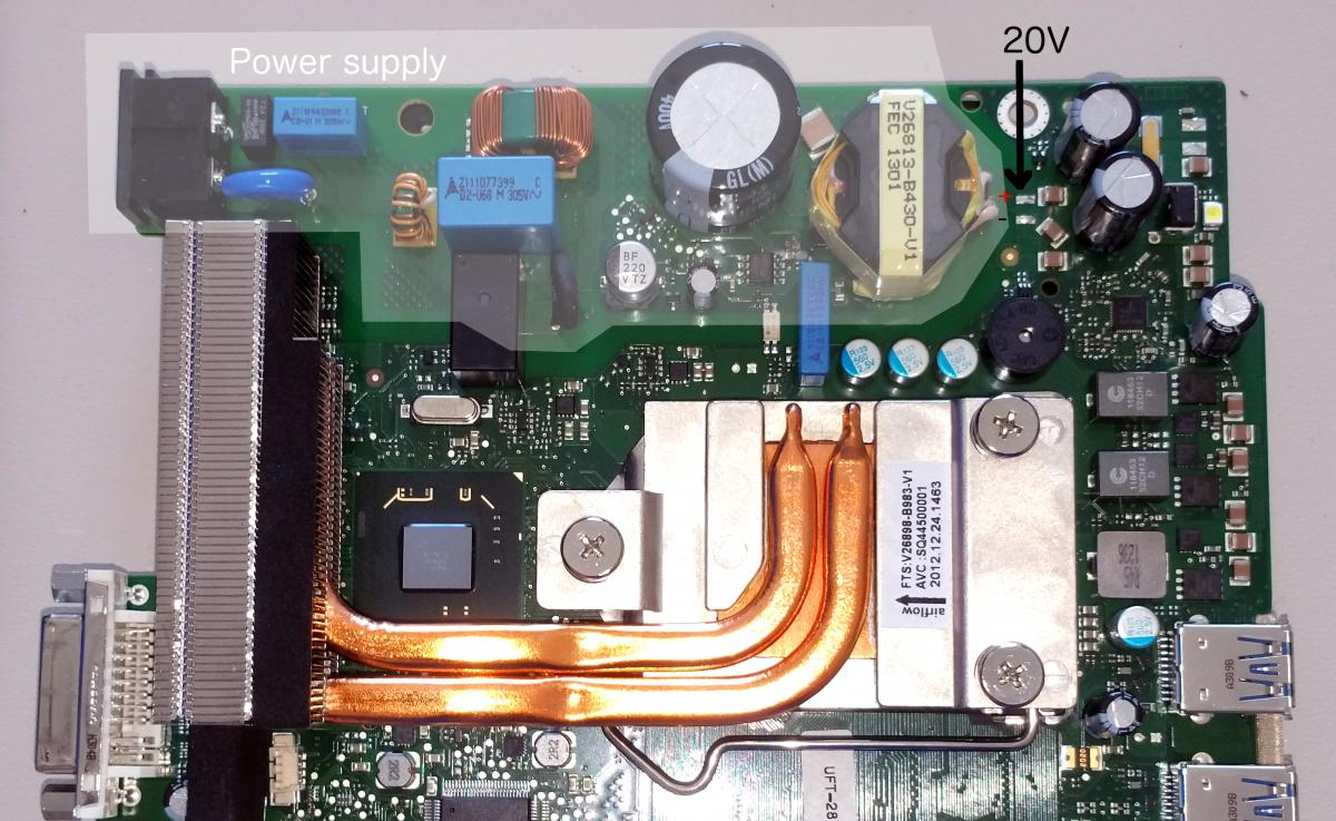 motherboard vs power supply