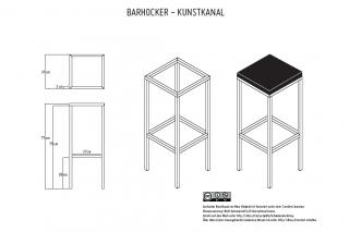Barhockerkonstruktion