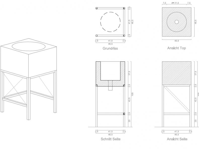 CAD Zeichnung by Erkin Bayirli