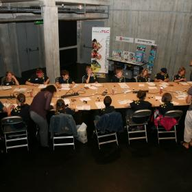 Workshop bei dem Bug´n´Play Festival in Zürich, 2012