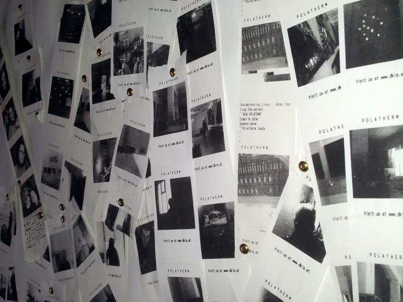 Gesammelte Fotos während des Atelierrundganges Q202 - 2014